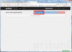 pritunl add organizations